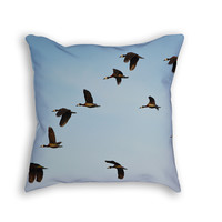 Spurwing Geese Throw Pillow