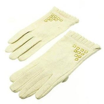 Metal Stud Winter Gloves