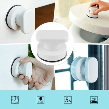 Strong Suction Cup Drawer Glass Mirror Wall Tile Handles Toilet Bathroom Door Pulls Glass Door Pull Adsorbent Handle and Knobs