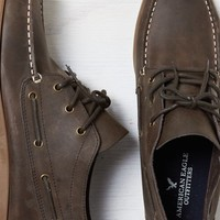 AEO Men's Chukka Boat Shoe (Brown)