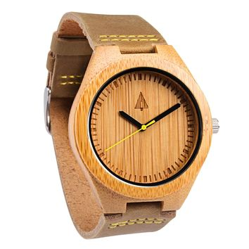 Wooden Watch // Boyd Gold