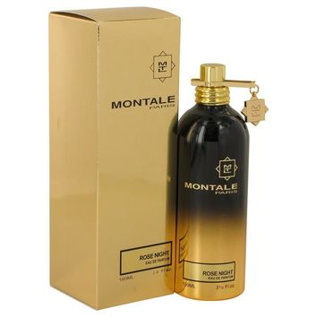 Montale Rose Night by Montale Eau De Parfum Spray (Unisex) 3.4 oz