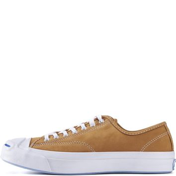 Converse for Men: Jack Purcell Signature Nubuck Luggage Tan Sneakers