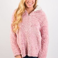 Cozy First Pullover - Pink