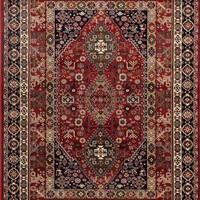 3843 Red Persian Oriental Area Rugs