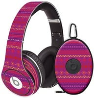Purple Tribal Skin for the Beats Studio Headphones & Case by skinzy.com