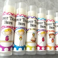 Gymnastics Custom Lip Balm | Tumbling Favors | Free Customization