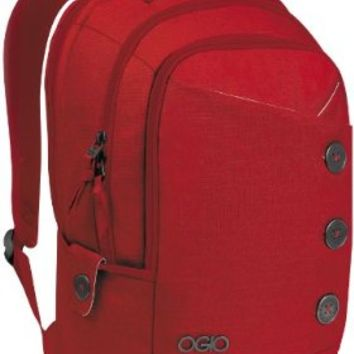 OGIO Women's Soho Laptop/Tablet Backpack, Medium, Red