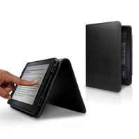 Marware Eco-Vue Genuine Leather Case Cover for Kindle Fire, Black