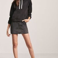 Fleece-Lined Hoodie - Women - Sweaters - 2000242189 - Forever 21 Canada English