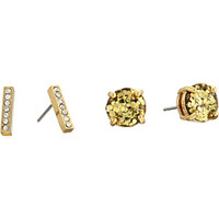 Kate Spade New York Pave Bar Two-Piece Studs Earrings Set