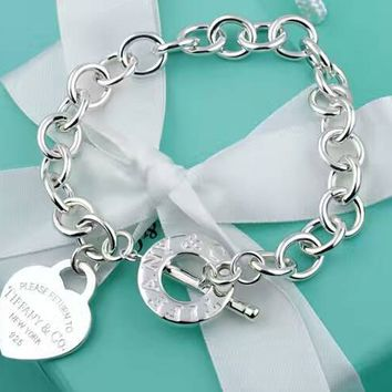 Tiffany & Co. Sterling silver Thick Bracelet