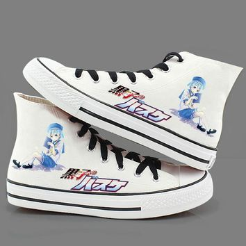 High-Q Unisex Kuroko no Basket Hand-painted shoes Preppy Student Kuroko no Basket plimsolls canvas shoes rope soled shoes