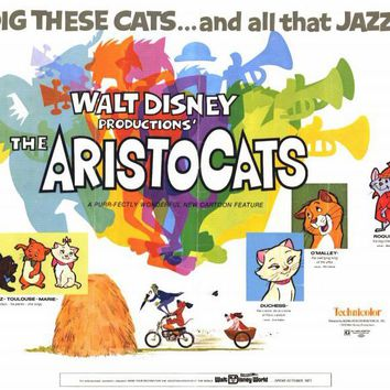 The Aristocats 11x14 Movie Poster (1971)