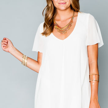 Show Me Your Mumu ~ Kylie Mini Dress ~ White