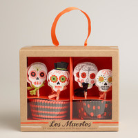Los Muertos Cupcake Kit, 24-Count - World Market