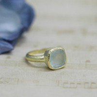 Light Of My Life Indie Aquamarine Stone Ring