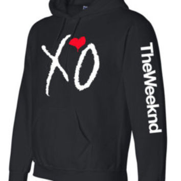XO  The Weeknd Crewneck  sweatshirt  Hooded sweater Hoodie
