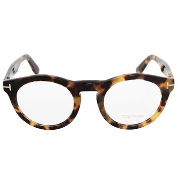 Tom Ford FT5459 055 50 Round | Light Havana | Eyeglass Frames