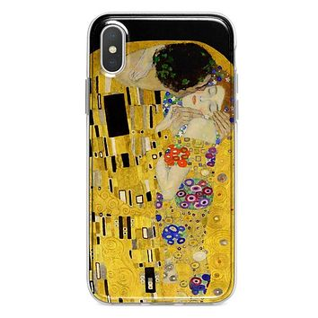 The Kiss by Klimt iPhone Xs / X case