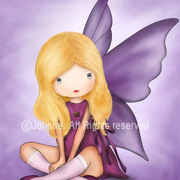 Children Wall Art. Baby nursery art prints. Angel fairy prints for children art. kids art
