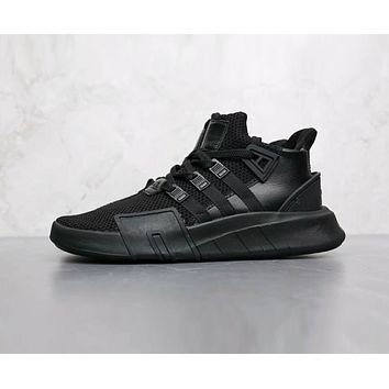 Adidas EQT BASK ADV Popular Men Casual Sport Running Shoes Sneakers Pure Black I-AHXF