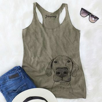 Leroy the German Shorthaired Pointer - Racerback Tank Top