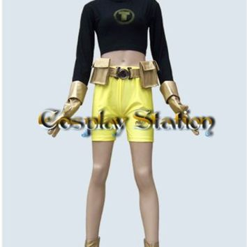 Teen Titans Cosplay Terra Costume:Teen Titans Cosplay Terra  Costume
