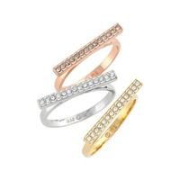 Rebecca Minkoff Stacking Rings (Set of 3) | Nordstrom
