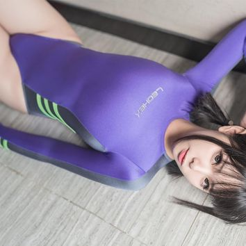Cosplay body suits Japanese Girls body cosplay suits for women sports body suit one piece school swimsuit sexy body suit girls