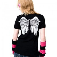 Handmade Gifts | Independent Design | Vintage Goods Angel Wings Tee