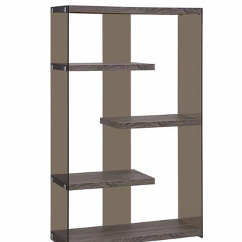 Coaster Fine Furniture Bookcase Weathered Grey 800525