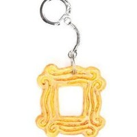 Yellow Peephole Frame Keychain inspired by Friends