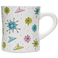 SOURPUSS SPUTNIK DINER MUG CREAM