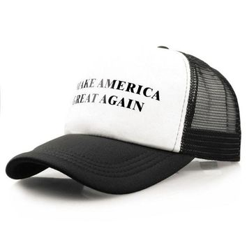 LMFCI7 2017 New Fashion unisex Make America Great Again Letter Print hats baseball cap men women snapback caps casquette gorras 1207#