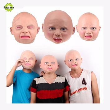 New Adult Latex Mask Hood Realistic Full Face Street Funny Disgusted