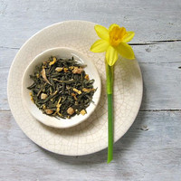 Granadilla (Passion Fruit) Green Tea | Loose Leaf Blend w/ Sunflower, Papaya & Passion Fruit