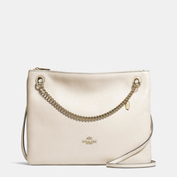 Convertible Crossbody in Polished Pebble Leather