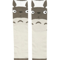 Studio Ghibli My Neighbor Totoro Grey Crew Socks