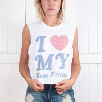 2-PACK BF Match Crop Muscle Tee