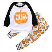 Halloween T-shirt Pants set
