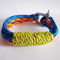 SALE - United Colors - Multi-strand Climbing Rope Bracelet