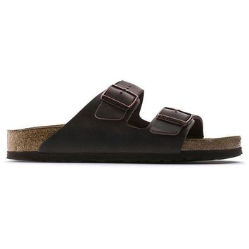 Birkenstock Arizona Soft Footbed Oiled Leather Habana 0452761/0452763 Sandals - Ready