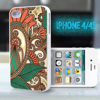 unique iphone case,glitter i phone 4 4s case,cool cute iphone4 iphone4s case,stylish plastic rubber cases,yellow  indian pattern  ,B2112