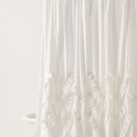 Waves Of Ruffles Shower Curtain - Anthropologie.com