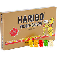 Haribo Gold-Bears Gummi Bears 4-Ounce Theater Packs: 12-Piece Case