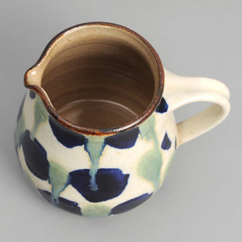 japanese pottery - coffee carafe from endo kiln ndo 012