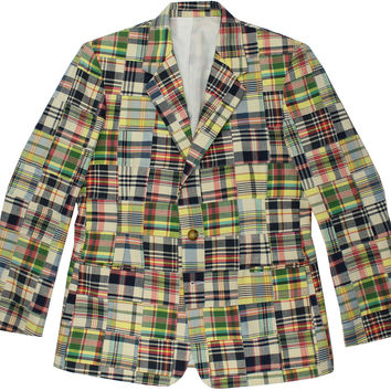 Madras Blazer in Great Island by Just Madras