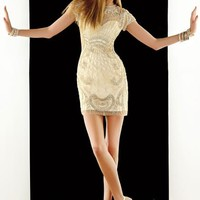 2014 Alyce Short Homecoming Fitted Dress 2354