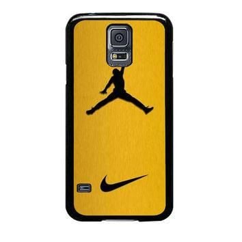nike air jordan golden gold samsung galaxy s5 s3 s4 s6 edge cases